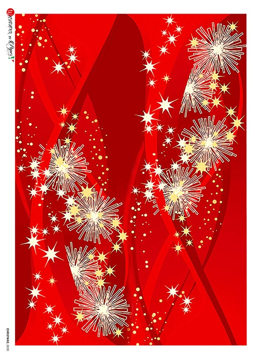 A 2189 Servilleta decorada Papel de arroz italiano